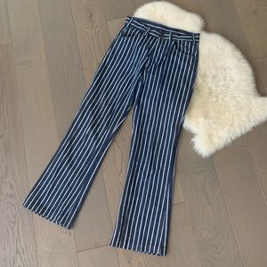 Vintage striped Levi's jeans